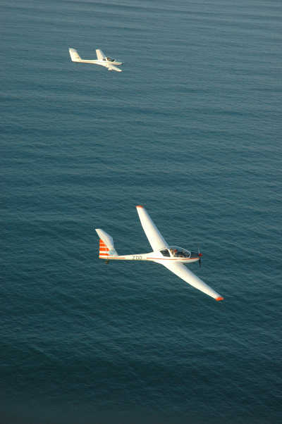 Two Gliders off Cape Byron
