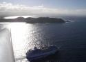 Cruise Ship off Cape Byron