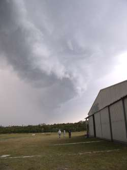 Thunderstorm Outflow over Byron Bay Gliding Club